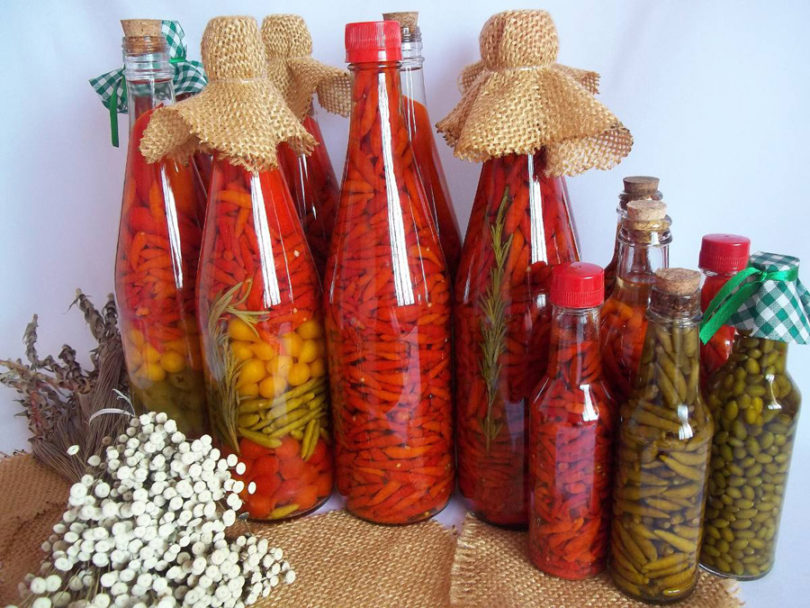 Como fazer conserva de pimenta