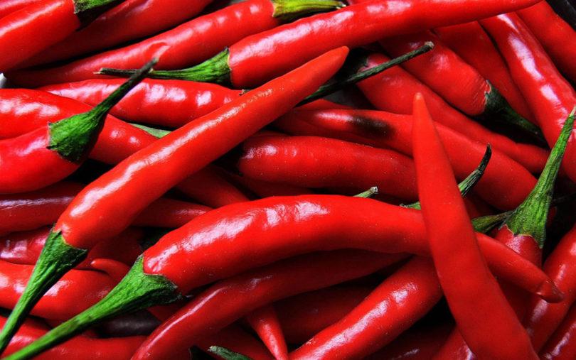 Suco detox com pimenta