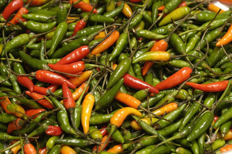 Doces com pimenta