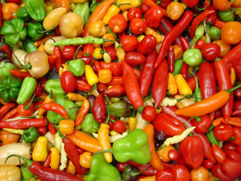 Sementes de pimenta